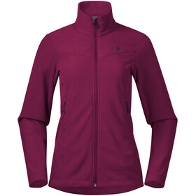 Bergans Finnsnes Fleece Jacket Women beet red